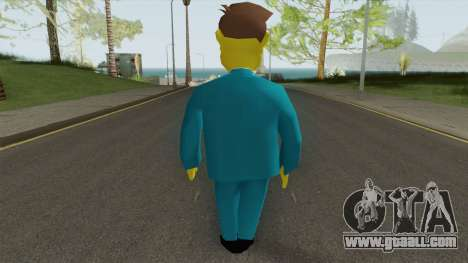 Seymour Skinner - Simpsons Hit and Run for GTA San Andreas