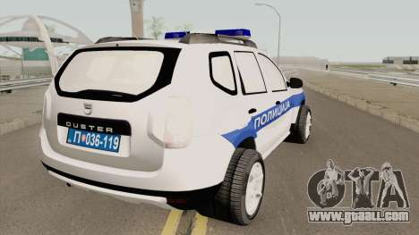 Dacia Duster Serbian Police for GTA San Andreas