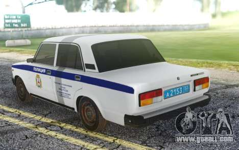 2107 PDL local Police representative for GTA San Andreas