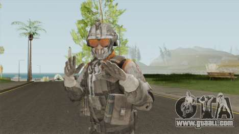 Elite 01 The Zulu Squad (Spec Ops: The Line) for GTA San Andreas
