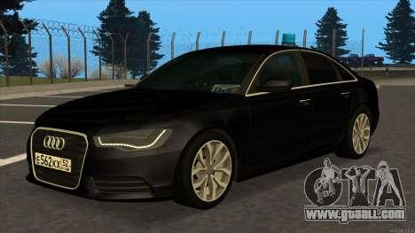 Audi A6 2015 FSB for GTA San Andreas