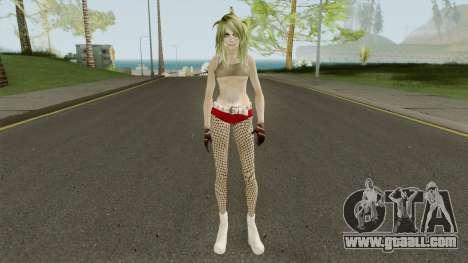 Badgirl Fishnets (Low Poly) for GTA San Andreas