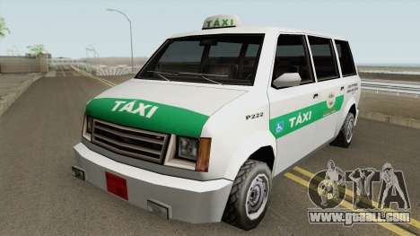 Cabbie Taxi Santos-SP (BH) for GTA San Andreas