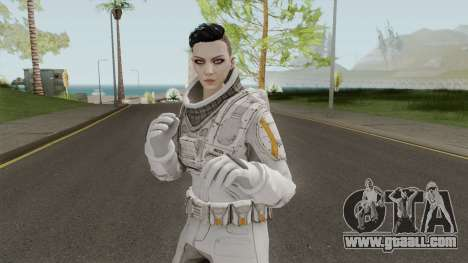 GTA Online: Arena Wars - White Astronaut for GTA San Andreas