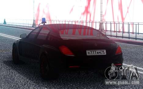 Mercedes-Benz Maybach S600 Emperor ФСБ РФ for GTA San Andreas