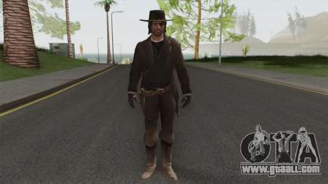 John Marston Deadly Assassin Outfit From RDR 2 for GTA San Andreas