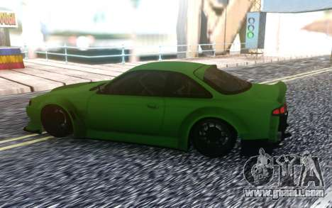 Nissan 200SX S14 Custom Wide for GTA San Andreas