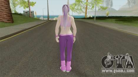 Ayane (Sport Leggings) From DOA5LR for GTA San Andreas
