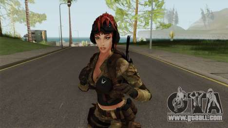 Engineer From Squad Aurora (Warface) for GTA San Andreas