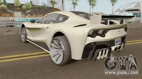 Grotti Itali GTO GTA V IVF for GTA San Andreas