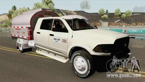 Dodge Ram Camion Cisterna for GTA San Andreas