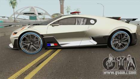 Bugatti Divo 2019 Police Prototype for GTA San Andreas