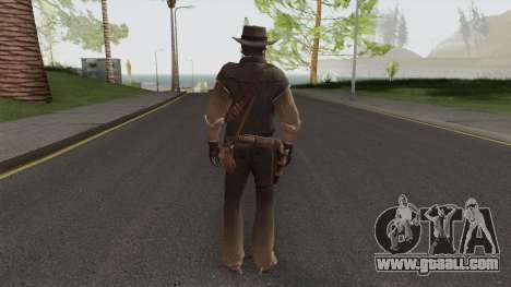 John Marston From Red Dead Redemption V1 for GTA San Andreas