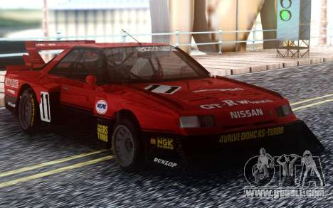 Nissan Skyline R30 Turbo Super Silhouette for GTA San Andreas
