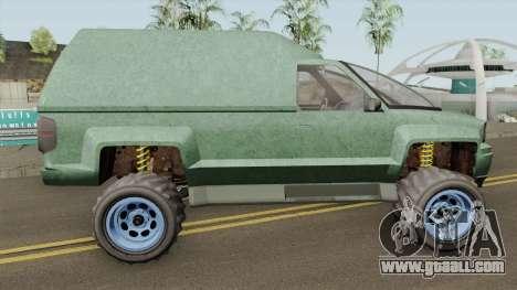 Declasse Brutus Stock GTA V IVF for GTA San Andreas