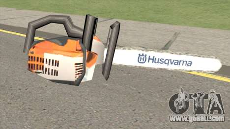 Chainsaw Husqvarna for GTA San Andreas