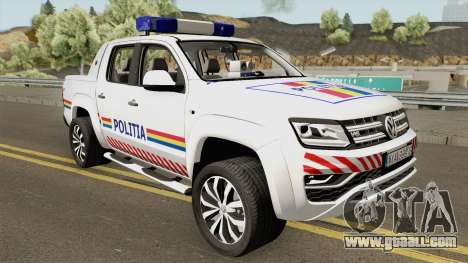 Volkswagen Amarok V6 - Politia Romana 2018 for GTA San Andreas