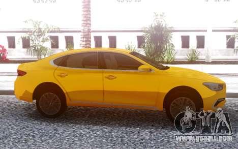 Hyundai Azera 2018 for GTA San Andreas