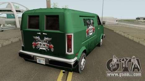 Topfun Van Normal (Brinquedos) TCGTABR for GTA San Andreas