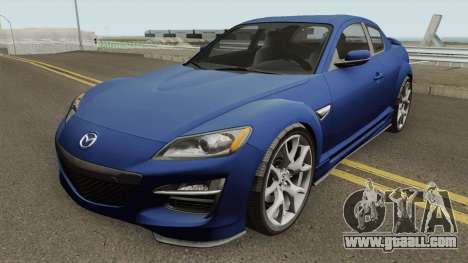 Mazda RX-8 2011 for GTA San Andreas