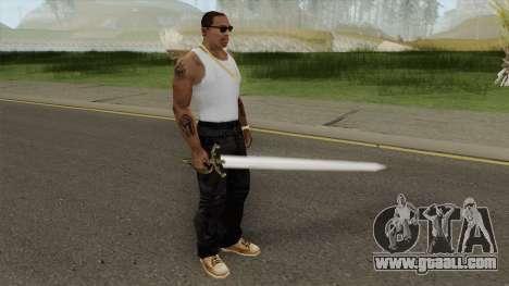 Scarlet Lumberg Sword for GTA San Andreas