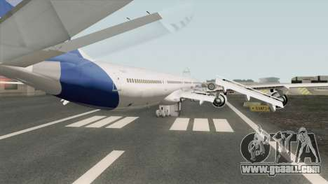 Airbus A340-600 for GTA San Andreas