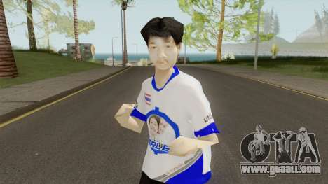 Malee Thailand Gamer for GTA San Andreas