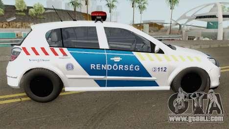 Opel Astra H Magyar Rendorseg for GTA San Andreas