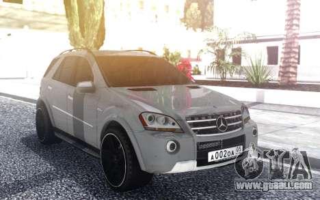 Mercedes-Benz ML 63 AMG for GTA San Andreas