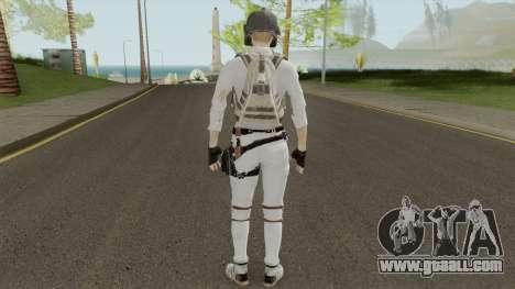PUBG Girl Skin for GTA San Andreas