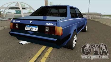 Volkswagen Voyage Los Angeles 1985 for GTA San Andreas