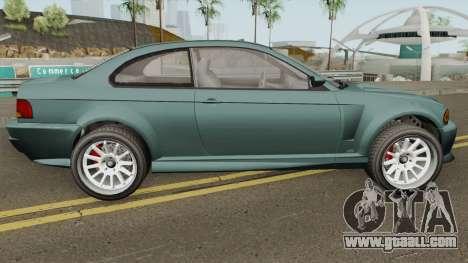 Ubermacht Sentinel Retro GTA V IVF for GTA San Andreas