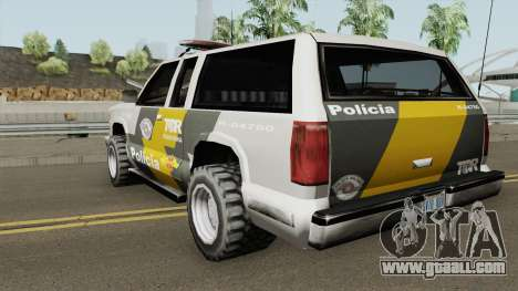 Policia Rodoviaria SP (Federal) TCG for GTA San Andreas