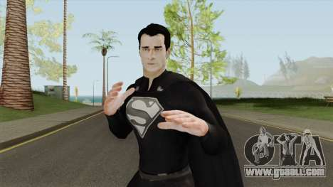 Black Superman From The Elseworlds Crossover for GTA San Andreas