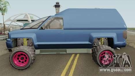 Declasse Brutus Cleaner GTA V IVF for GTA San Andreas
