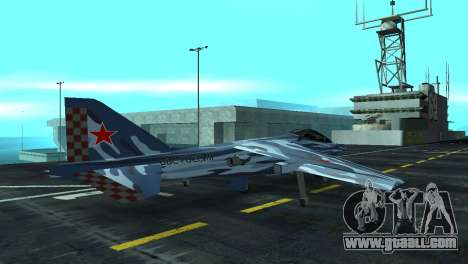 Hydra MiG-35 for GTA San Andreas