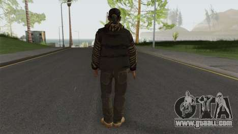 Little Jacob - Zebra Jacket (IV) for GTA San Andreas