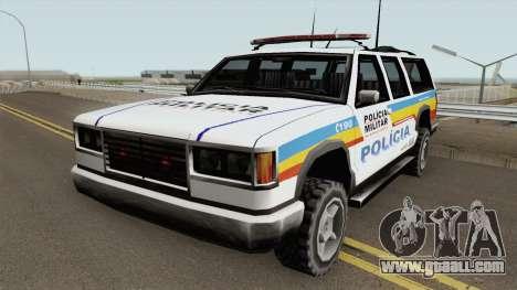 Copcarvg Policia MG TCGTABR for GTA San Andreas