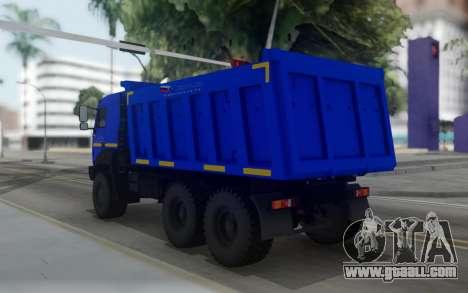 Ural 6370К-0121-30Е5 for GTA San Andreas