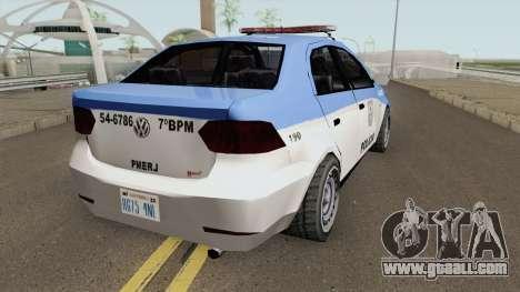 Volkswagen Voyage G6 Policia RJ for GTA San Andreas