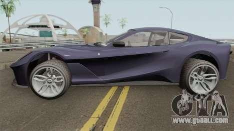 Grotti Itali GTO (812 Superfast Style) GTA V IVF for GTA San Andreas