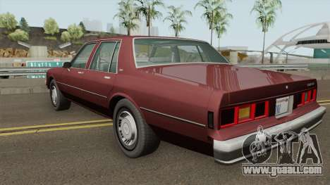 Chevrolet Impala (1980-1984) for GTA San Andreas