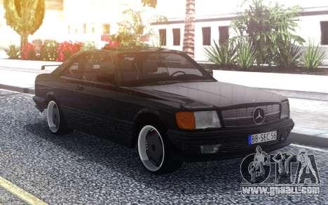 Mercedes-Benz  560 SEC AMG for GTA San Andreas