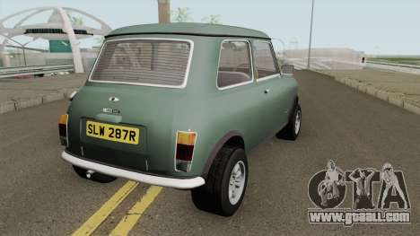 British Leyland Mini 1000 1977 Black Bonnet for GTA San Andreas