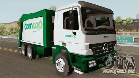 Mercedes-Benz Actros Trash Prefeitura de Florian for GTA San Andreas