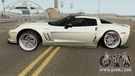 Chevrolet Corvette ZR1 2010 Stance for GTA San Andreas