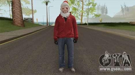 GTA Online Christmas Skin 2 for GTA San Andreas