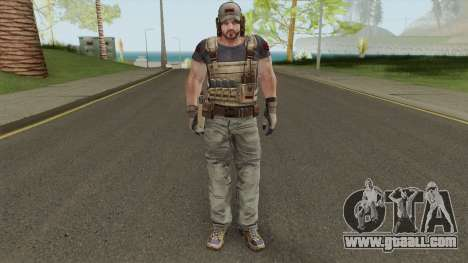 Parker Luciani From Resident Evil: Revelations for GTA San Andreas