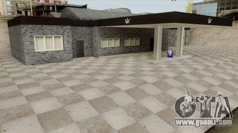 Platinum Motorsport Garage for GTA San Andreas