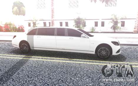 Mercedes-Benz S650 Pullman Maybach 2019 for GTA San Andreas